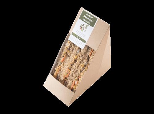 Cheddar & Vegetable Sandwich
