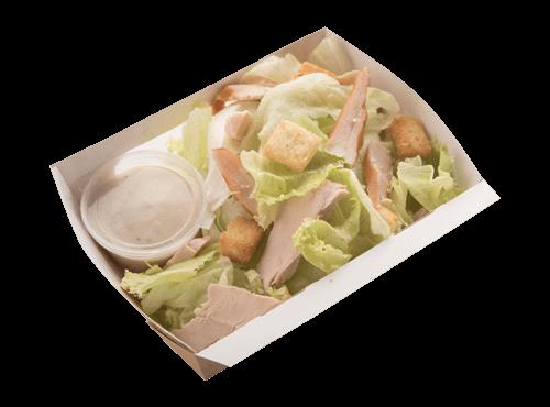 Smoked Chicken Caesar Salad