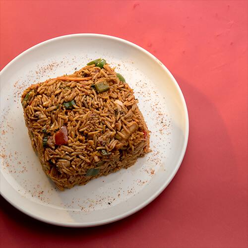 Chicken Mongolian Rice