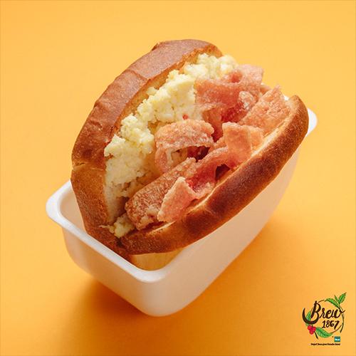 Crunchi Chicken Bacon Brioche Sandwich