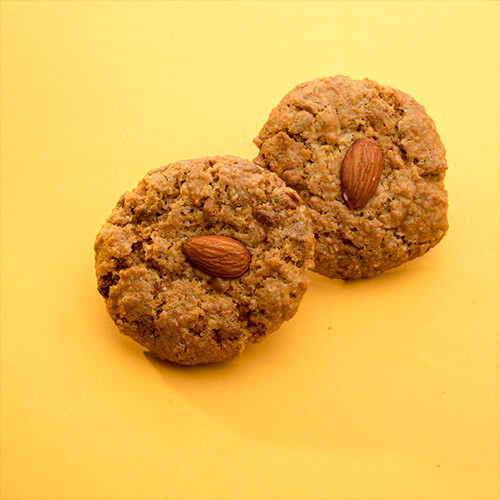 White Chocolate Oats Cookie