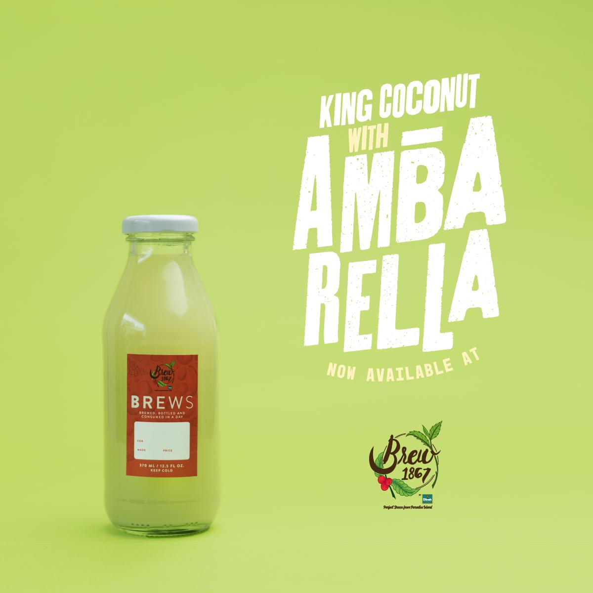 King Coconut with Ambarella Juice
