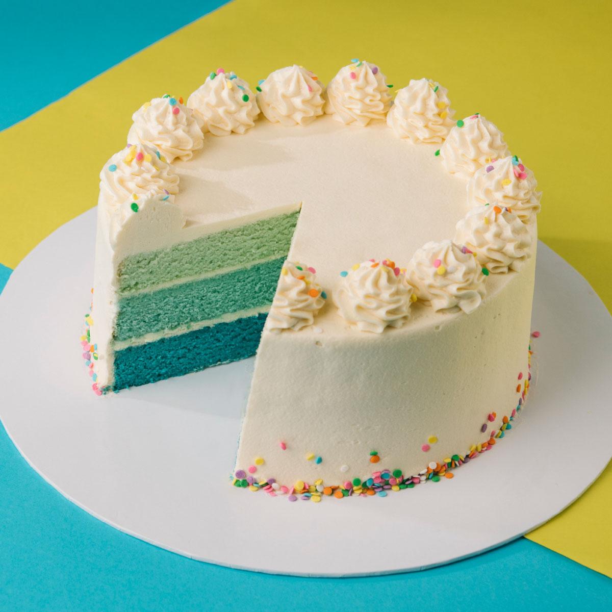 Ribbon Cake - 1Kg