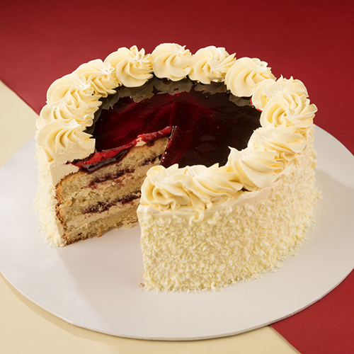 Vanilla Sponge Cake with Butter Cream - 1kg